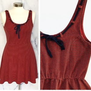 Dear Creatures Modcloth Striped Sailor Dress